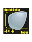 Plavecké dioptrické sklo do masky FOCUS