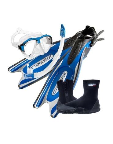 potápačský set Frog Plus + Matrix + Gamma + Boots